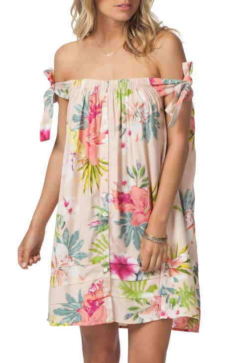bbd8d05df1eb Rip Curl Sweet Aloha Off the Shoulder Dress