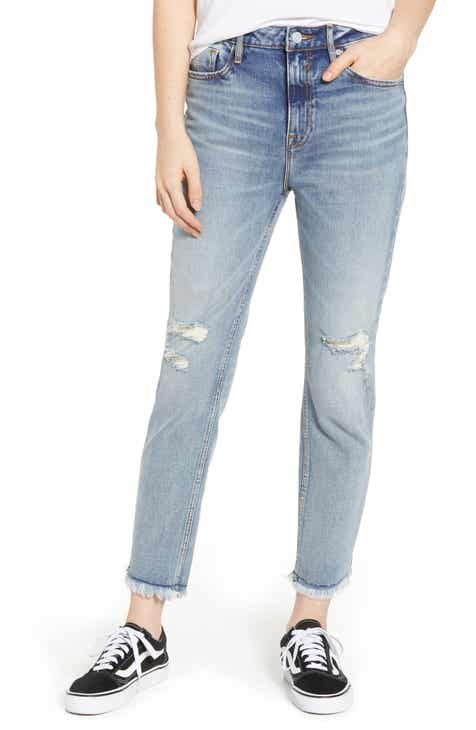 Vigoss Friday Distressed Crop Boyfriend Jeans by VIGOSS