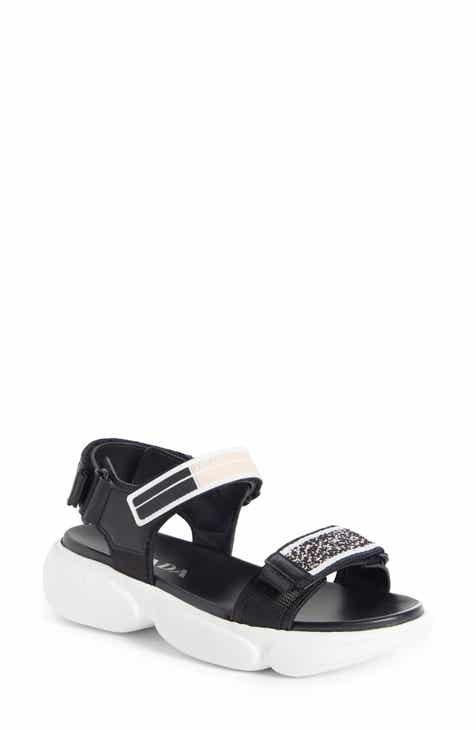 073dd389d516de Prada Logo Sport Sandal (Women)