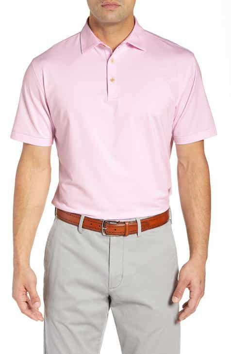 71154a300 Peter Millar Jubilee Regular Fit Stripe Jersey Polo