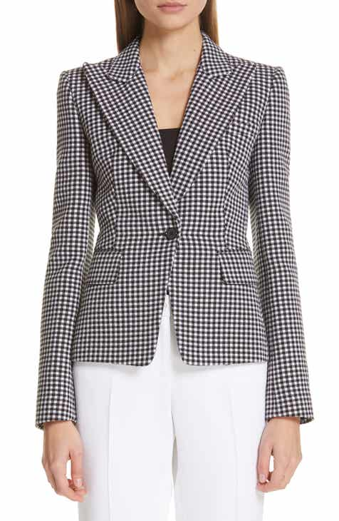 Michael Kors Gingham Blazer by MICHAEL KORS