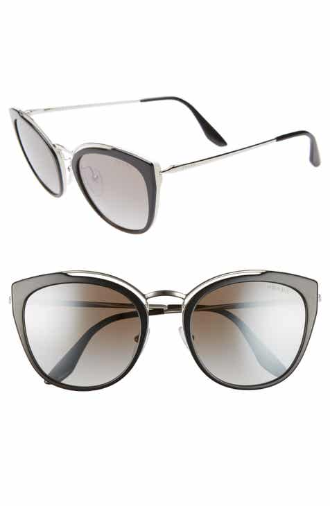 2dbcb67a1467 Prada 54mm Gradient Cat Eye Sunglasses