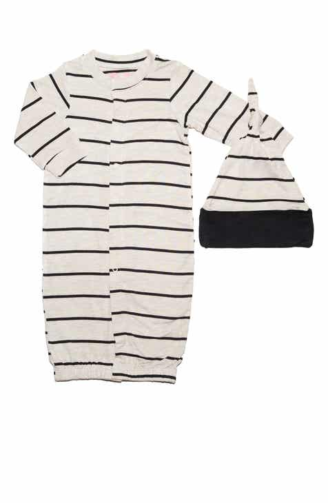 Baby Grey Convertible Gown   Hat Set (Baby) 90851852d7bb