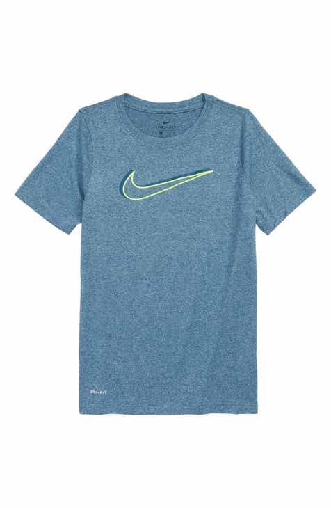 Nike Dry Legend Swoosh T Shirt Little Boys Big