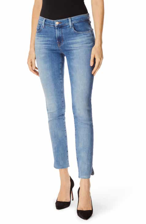 DL1961 'Coco' Curvy Straight Jeans (Solo) (Tall) by DL 1961