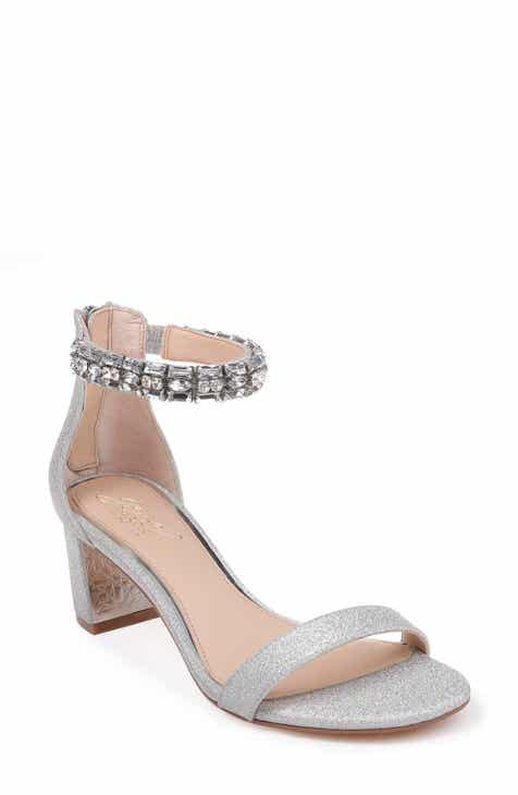 b9633b58f19 Jewel Badgley Mischka Katerina Ankle Strap Sandal (Women)
