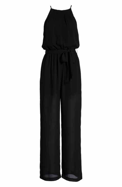 0748dac4a2c7 All in Favor Blouson Chiffon Jumpsuit