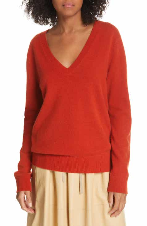 Vince Weekend V-Neck Cashmere Sweater by VINCE