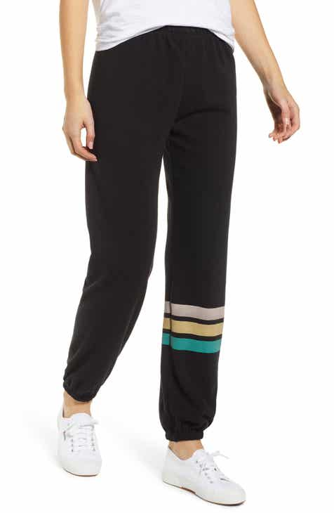 Wildfox Easy Contrast Trim Sweatpants by WILDFOX