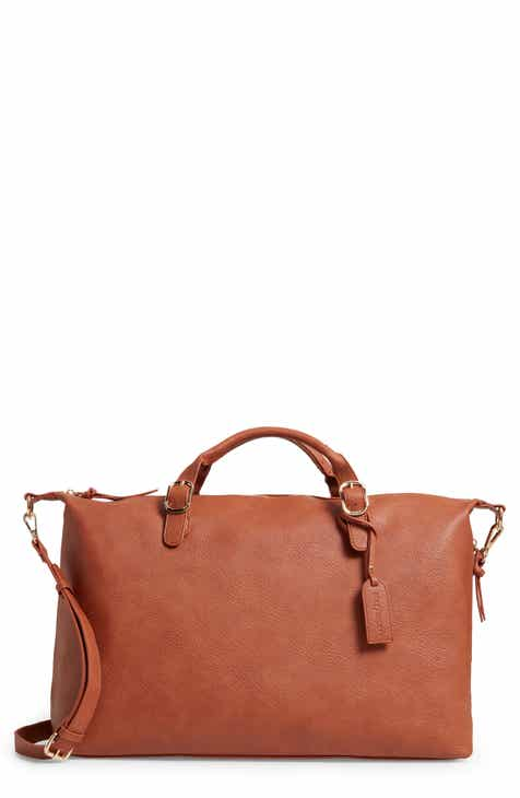 Sole Society Grant Faux Leather Weekend Bag 4f2b3cc462e47