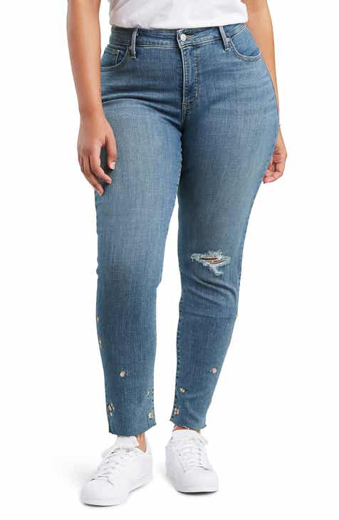 f929b9a2755 Levi s® 311™ Shaping Skinny Jeans (Breeze Along) (Plus Size)