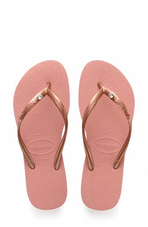 272752b04e9e28 Havaianas  Slim Crystal Glamour  Flip Flop (Women)