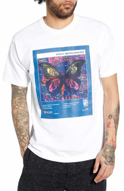 ad6fe6ae47e78 Obey Death   Rebirth Graphic T-Shirt