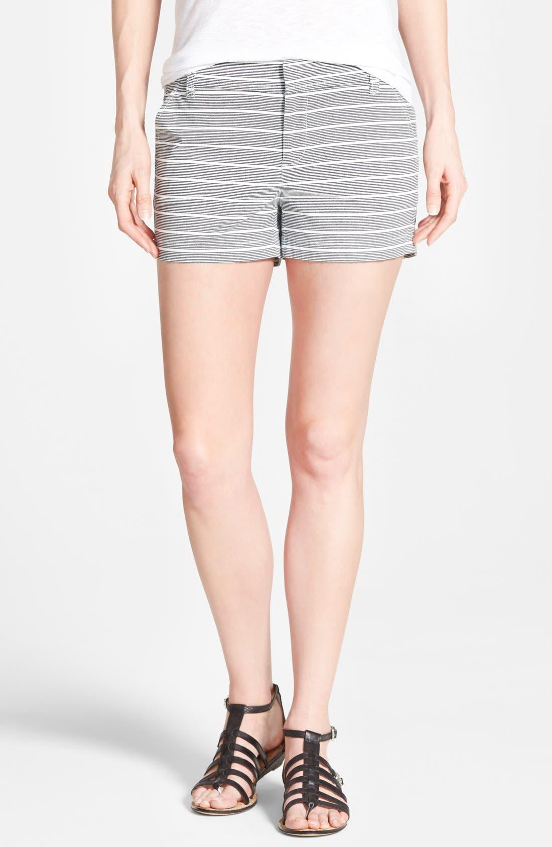 Alternate Image 1 Selected - Caslon® 'Addison' Clean Front Shorts (3 Inch) (Regular & Petite)