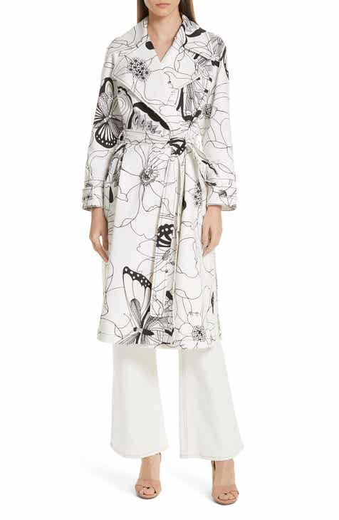 280c377b7ad6 See by Chloé Butterfly Print Trench Coat