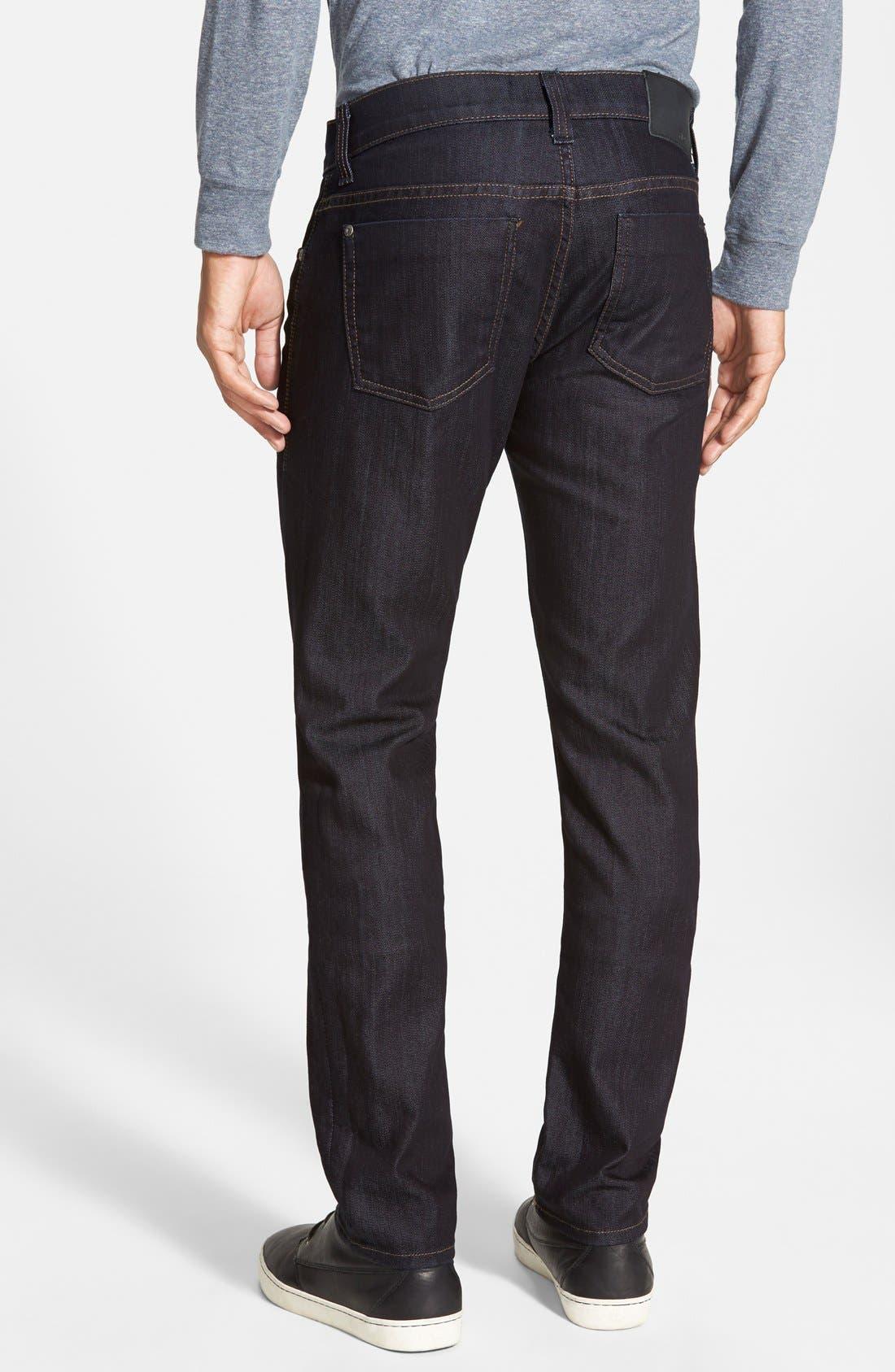 Torino Slim Fit Jeans,                             Alternate thumbnail 2, color,                             Revolution Rinse