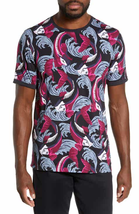 4b433a91a Ted Baker London Brelto Slim Fish Swim T-Shirt