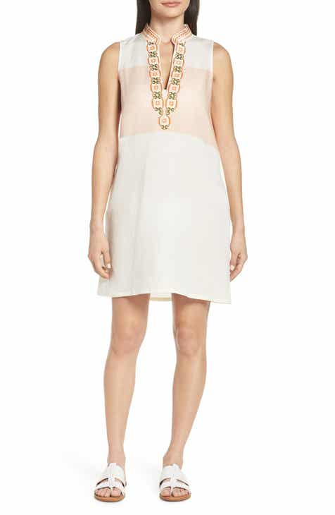 b81d3d0889c Tory Burch Embroidered Beach Cover-Up Dress