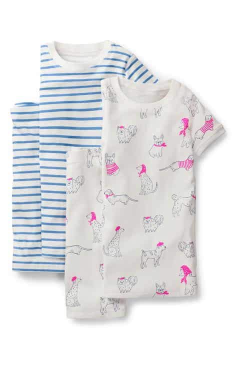 f63be14914 Mini Boden 2-Pack Fitted Two-Piece Pajamas (Toddler Girls