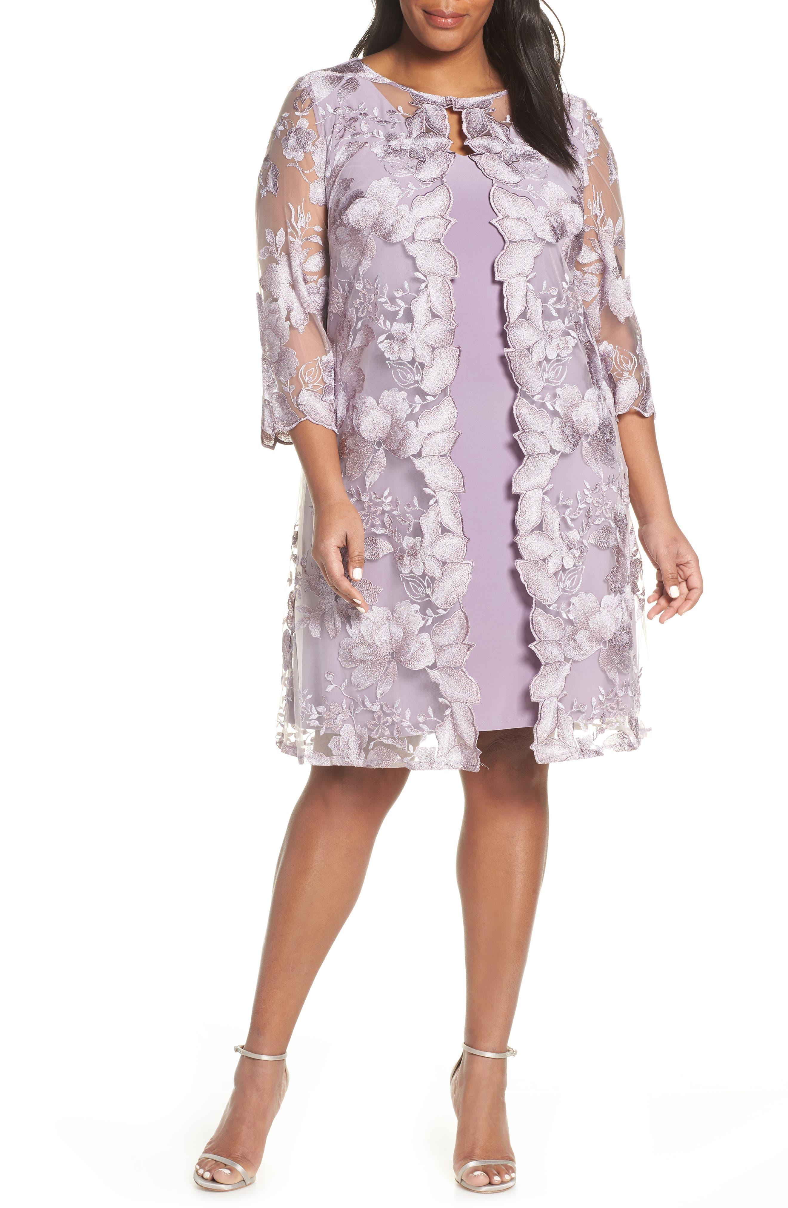 Purple Cocktail Dress From Dillard's