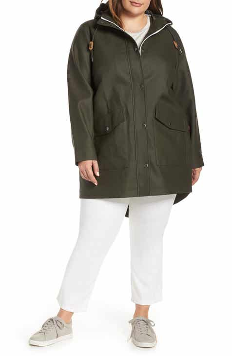 ec328751ed128 Levi s® Rubberized Fishtail Parka (Plus Size)