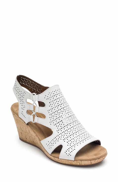 b955c9e72363 Rockport Cobb Hill Janna Perforated Wedge Sandal (Women)