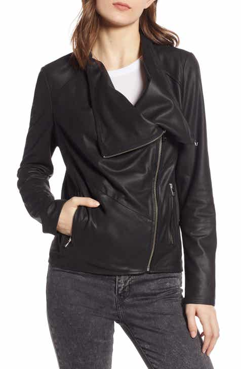 LaMarque Waterfall Leather Jacket by LAMARQUE