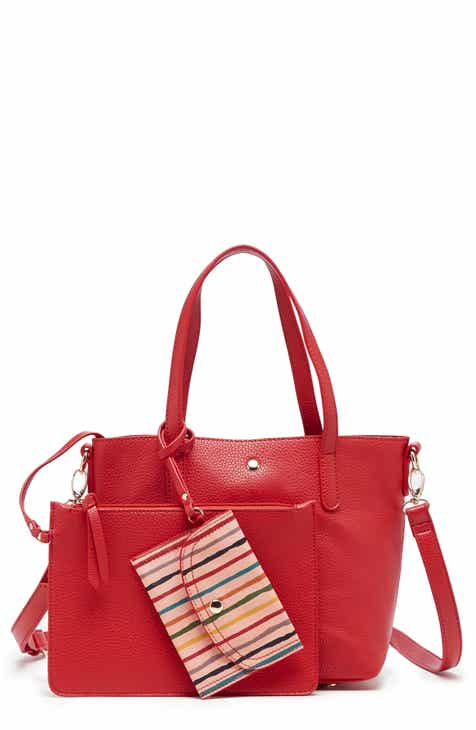 b50cd7a9e6 Sole Society Mini Zeda Faux Leather Tote