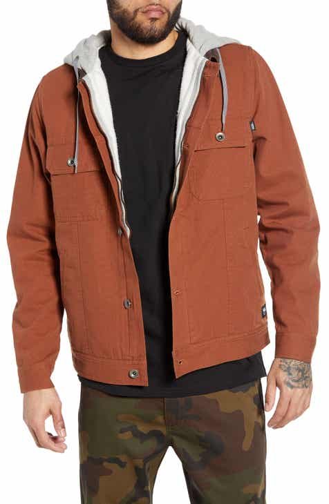 c911de76a0a89 Vans Precept Hooded Trucker Jacket.  129.50. Men s Coats and Jackets