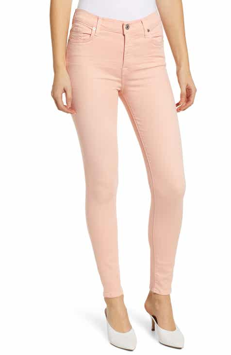 f83104b35a2 7 For All Mankind® High Waist Ankle Skinny Jeans