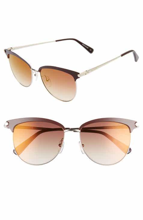 50001a1398 Longchamp Roseau 55mm Gradient Sunglasses