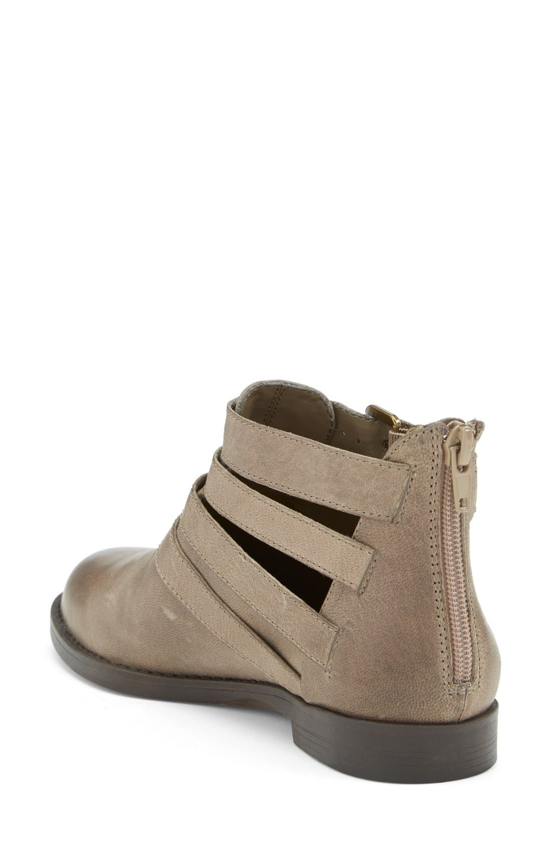 Alternate Image 2  - Bella Vita 'Ronan' Buckle Leather Bootie (Women) (Online Only)