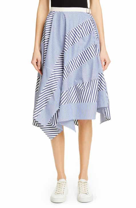 1c53689b0b6f Tricot Comme des Garçons Multistripe Cotton Skirt