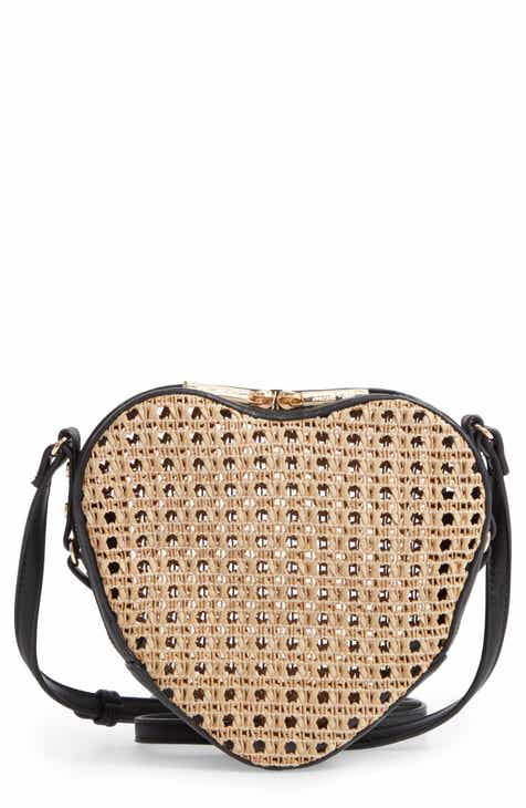 b1c7be681ce4 Mali + Lili Melanie Basket Heart Crossbody Bag