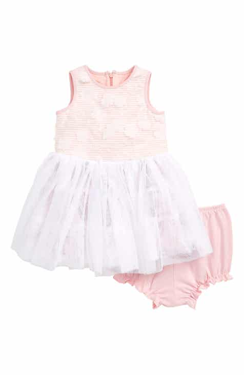 85a21efaf02 Pastourelle by Pippa   Julie Floral Stripe Tutu Dress (Baby)