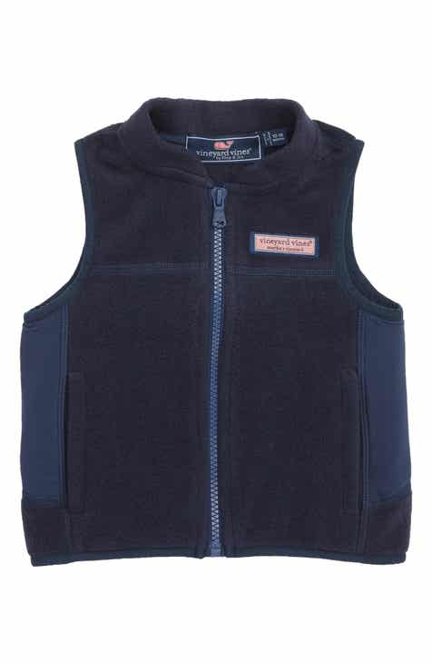 vineyard vines Harbor Fleece Vest (Baby)