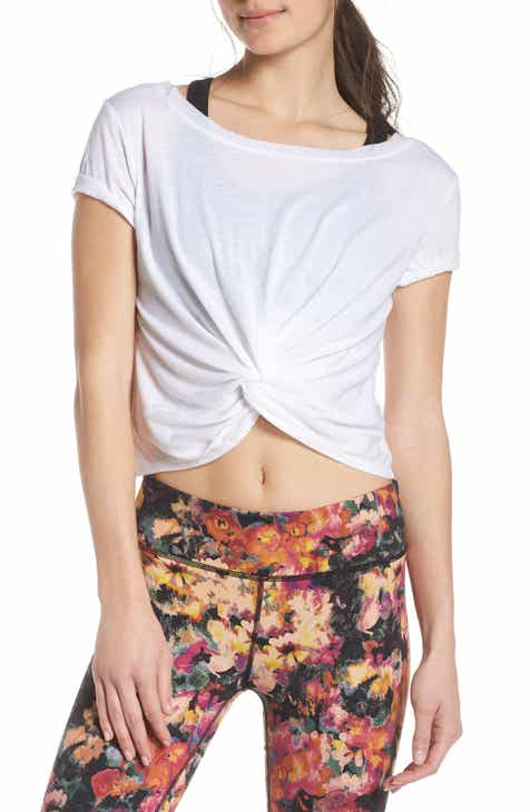 Free People Movement Run in the Sun Print Tee by FREE PEOPLE MOVEMENT