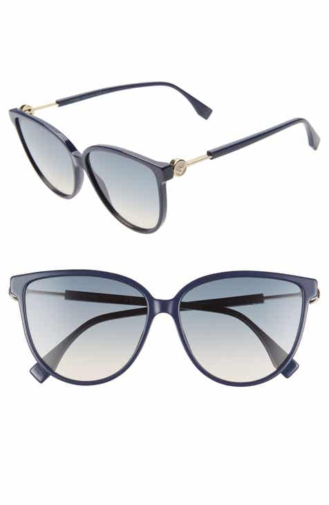 b04a943ba0 Fendi 59mm Cat Eye Sunglasses