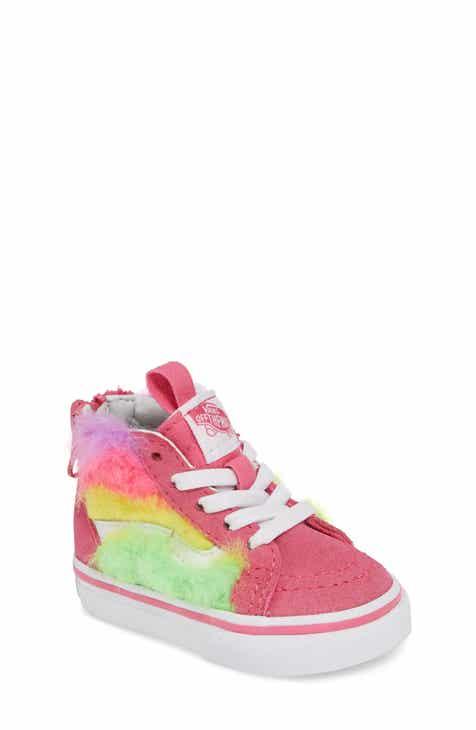 5677573f791de7 Vans SK8-Hi Zip Faux Fur Sneaker (Baby