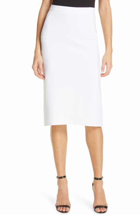 DVF Darcey Pleat Back Skirt by DVF