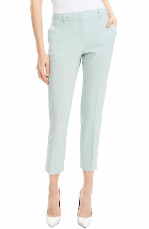 7cec98fa6b1a2 Theory Treeca 2 Good Wool Crop Suit Pants (Nordstrom Exclusive)