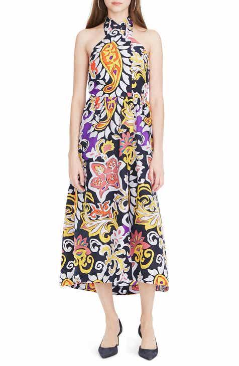 847d06d4fd2 J.Crew Paisley Silk Maxi Sarong Dress