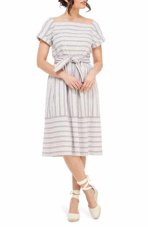 dd11d0bfc49 Gal Meets Glam Collection Stripe Square Neck Dress