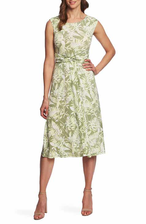 Tory Burch Multistripe Back Tie Cotton Wrap Dress by TORY BURCH