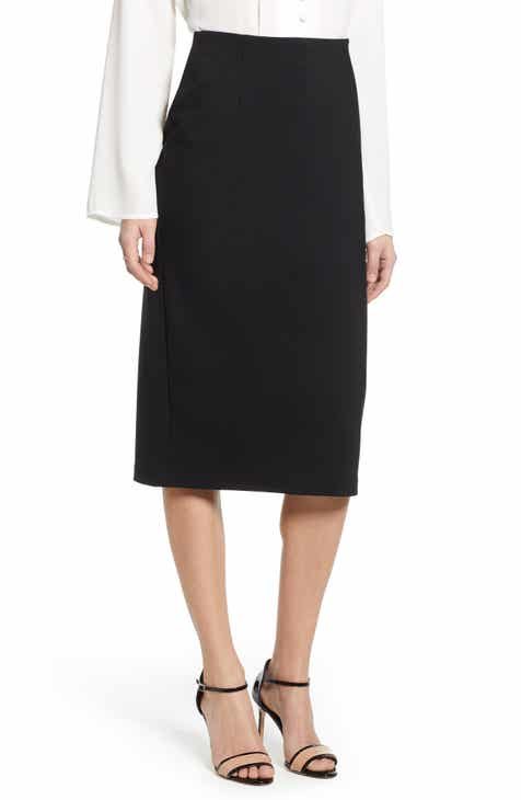 c42ae2db13 Halogen® Ponte Pencil Skirt (Regular, Petite & Plus Size)