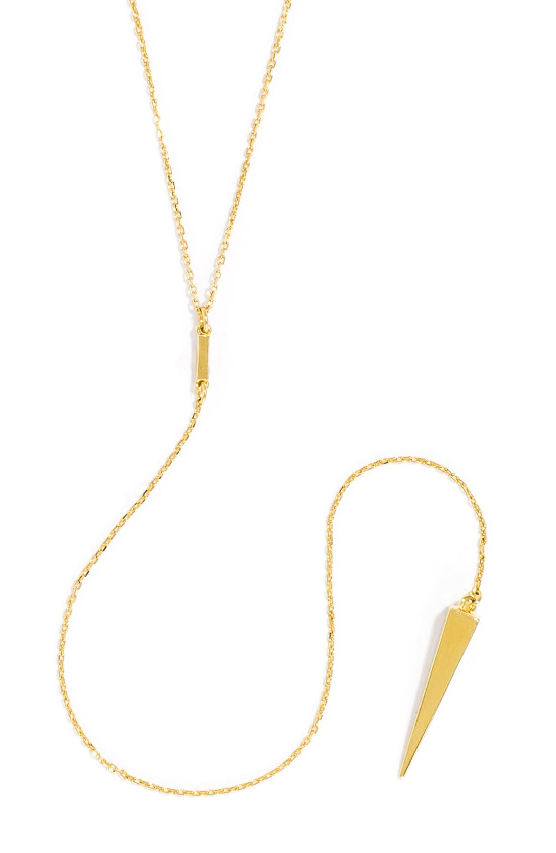 'Pyramid' Layered Necklace Gift Set,                             Alternate thumbnail 5, color,                             Gold