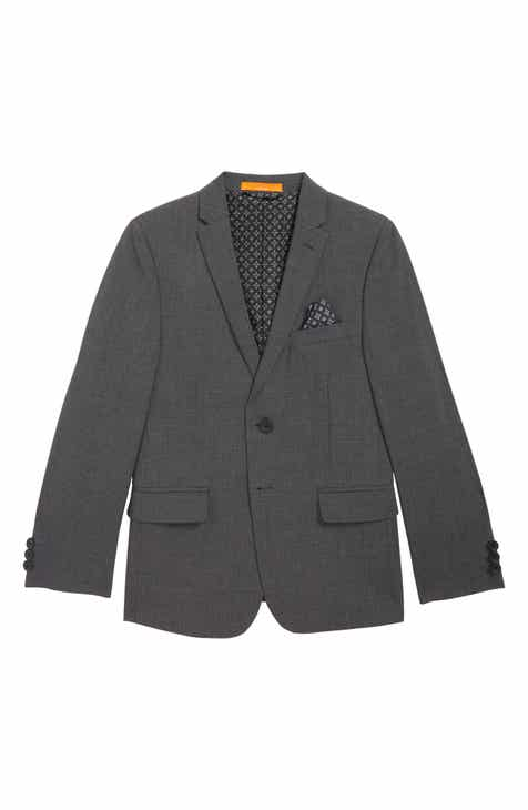 b9e56f02d Tallia Solid Wool Blend Sport Coat (Toddler Boys, Little Boys, Big Boys &  Husky Boys)