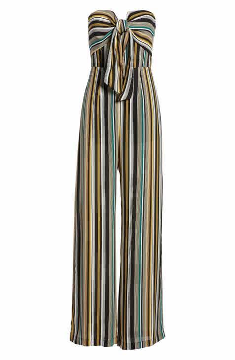 adcca4139bbd Socialite V-Front Strapless Jumpsuit