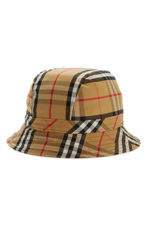 8c133be9be7 Burberry Vintage Check Bucket Hat
