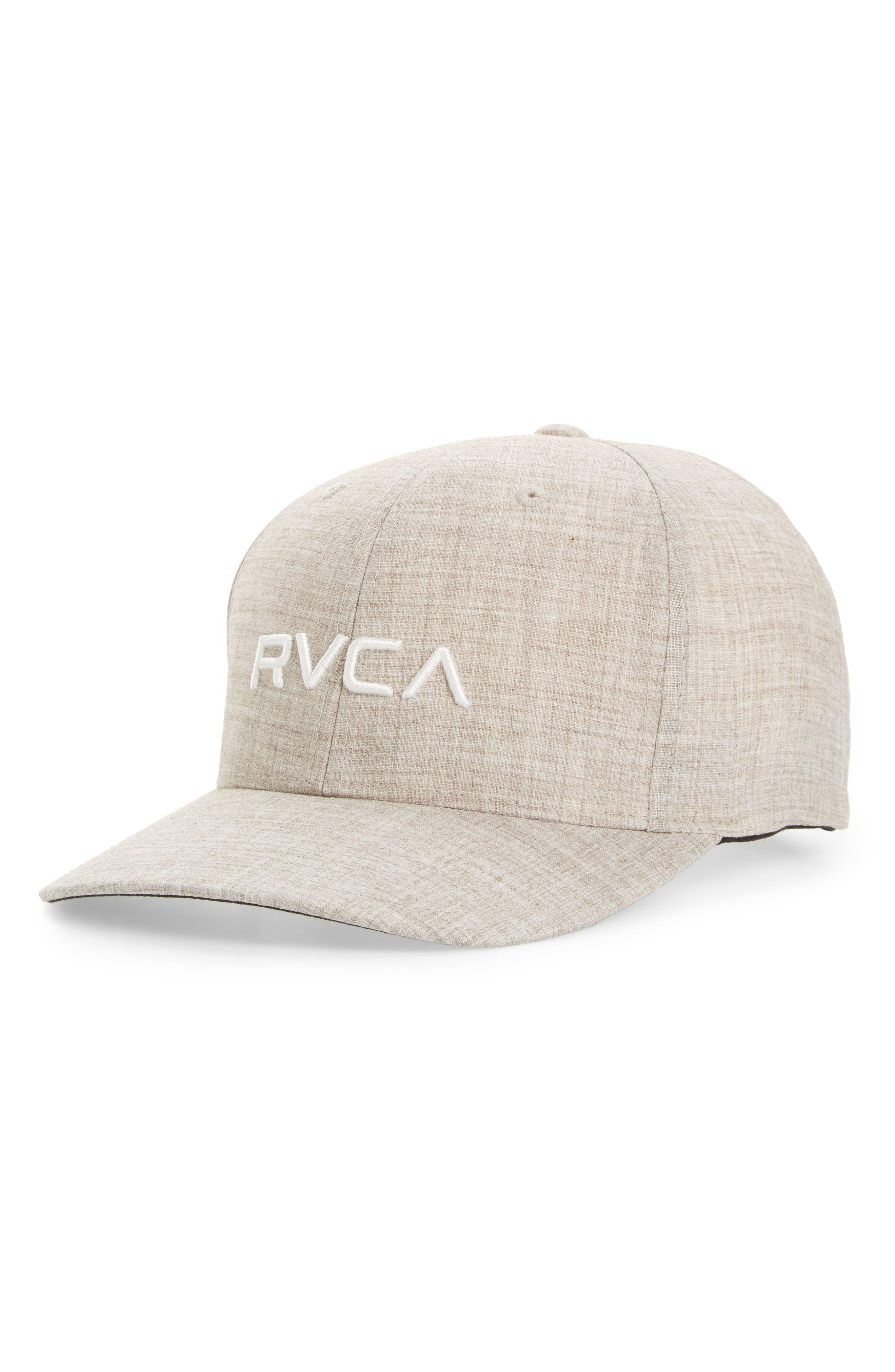 purchase cheap b3aa4 11d25 where to buy rvca womens grill dad hat denim 257c6 2534e  50% off rvca flex  fit baseball cap 7f70c 09318